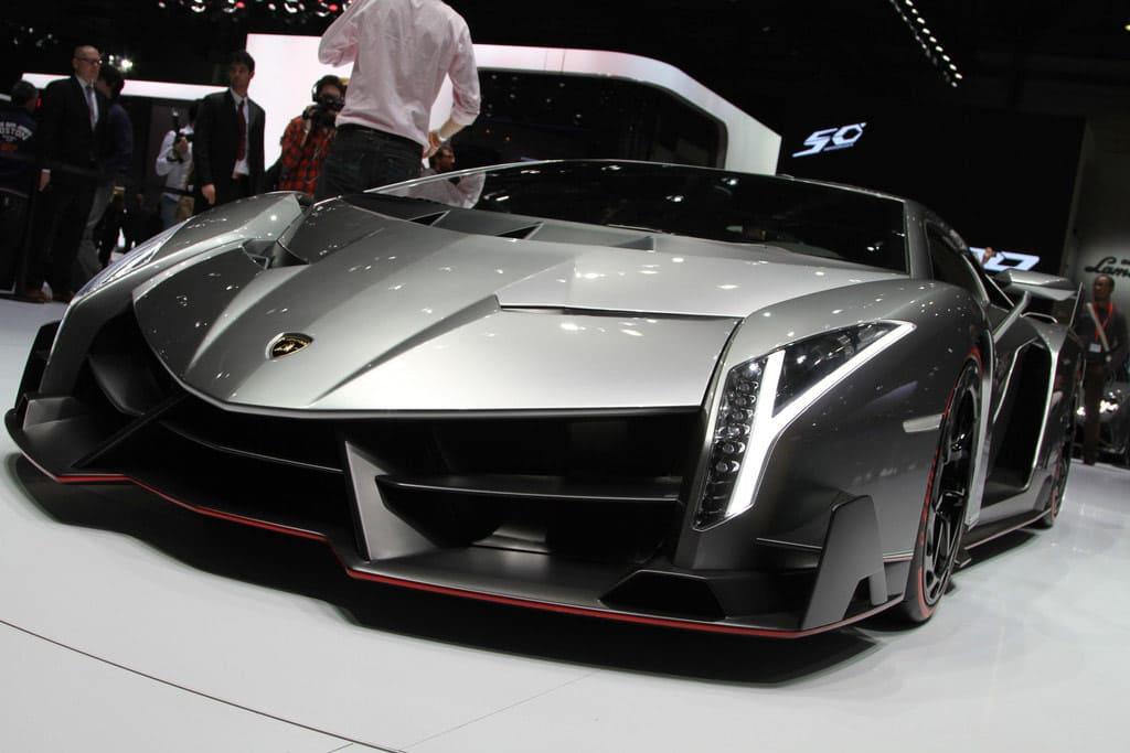 Lamborghini Veneno au Salon de Genève