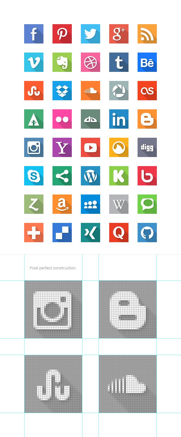 social-media-flat-icons-600