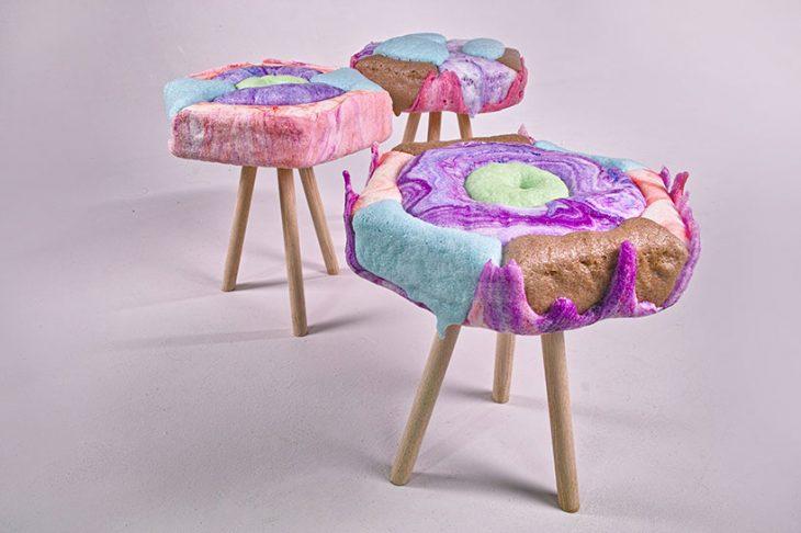 meuble design fauteuil en mousse