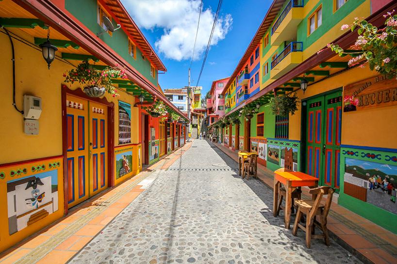 street art de la ville guatape