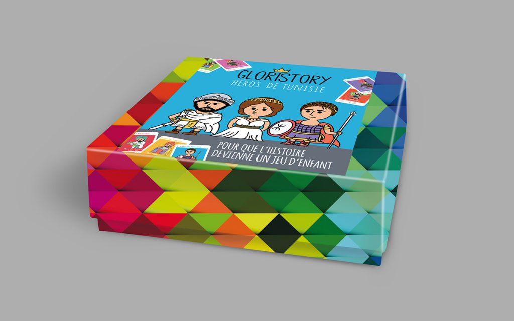 jeu de carte de designer tunisien hela majdoub