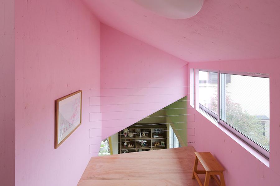 architecture maison geometrique