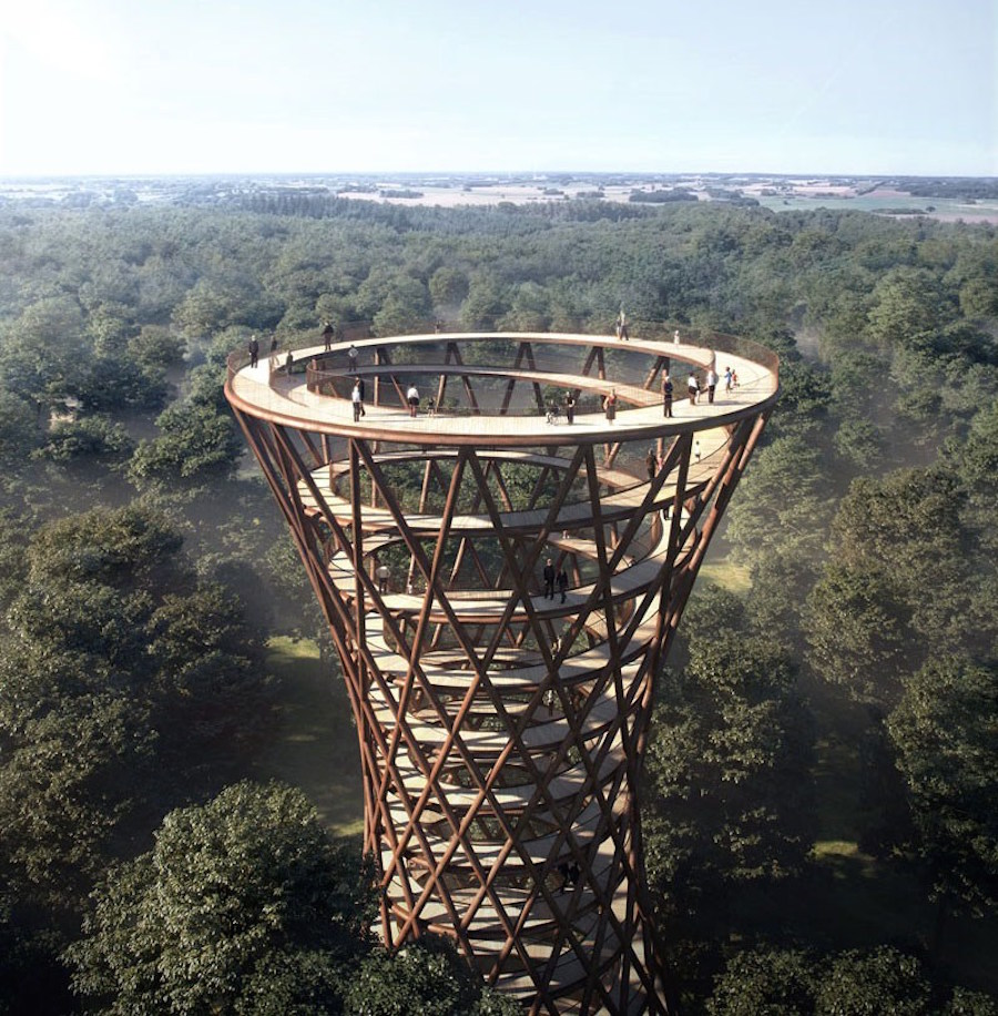 architecture-moderne-The-treetop-Experience
