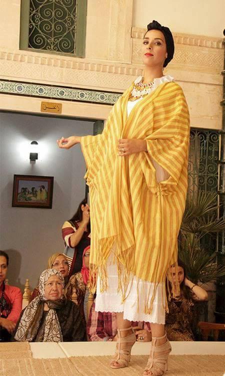 artisant-tunisie-défilé-mode-kerkenatiss-fatma samette