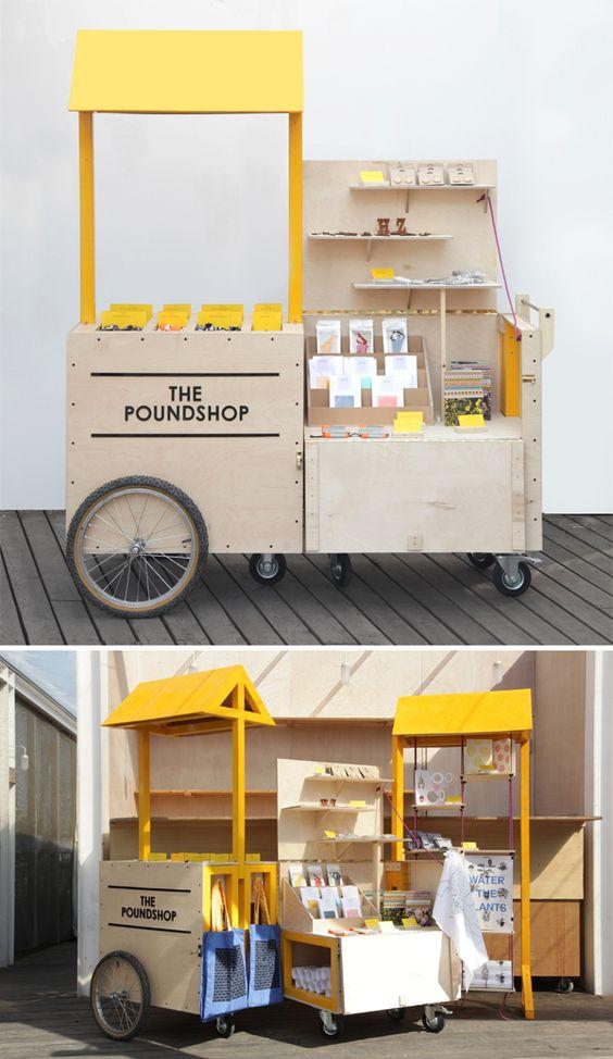 les concept stores itinérants