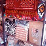 The Red Bee Concept store design handmade artisanat Tunisie Tapisserie Kerkenatiss