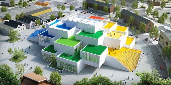 architecture jeu lego