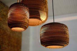 Tikarton, trouver luminaires design en carton, suspension, led, chambre enfant