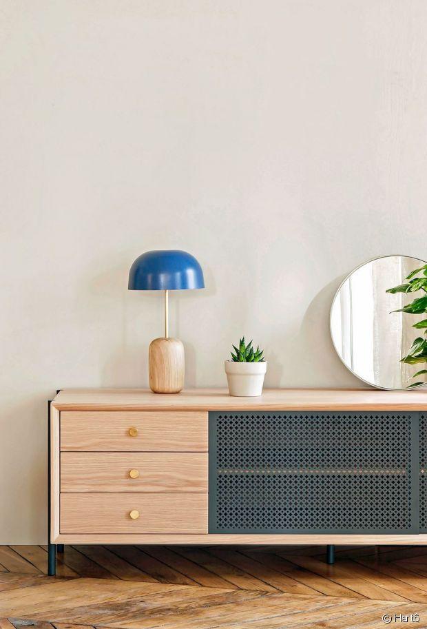 décoration d'intérieur meuble en cannage armoire