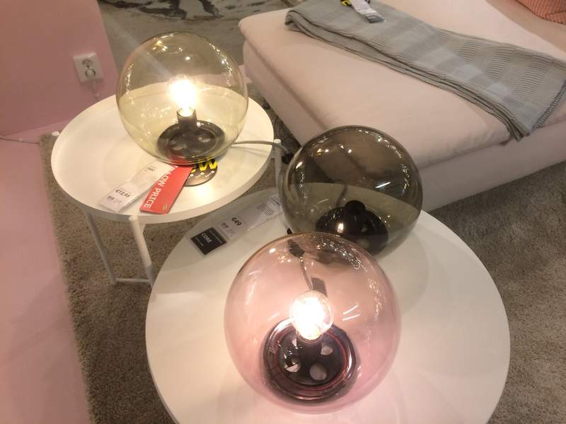 ikea collection 2018 meuble lampe