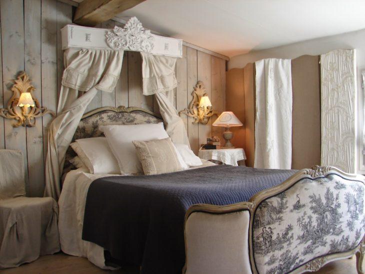 decoration et meuble chambre a coucher romantique noce mariage