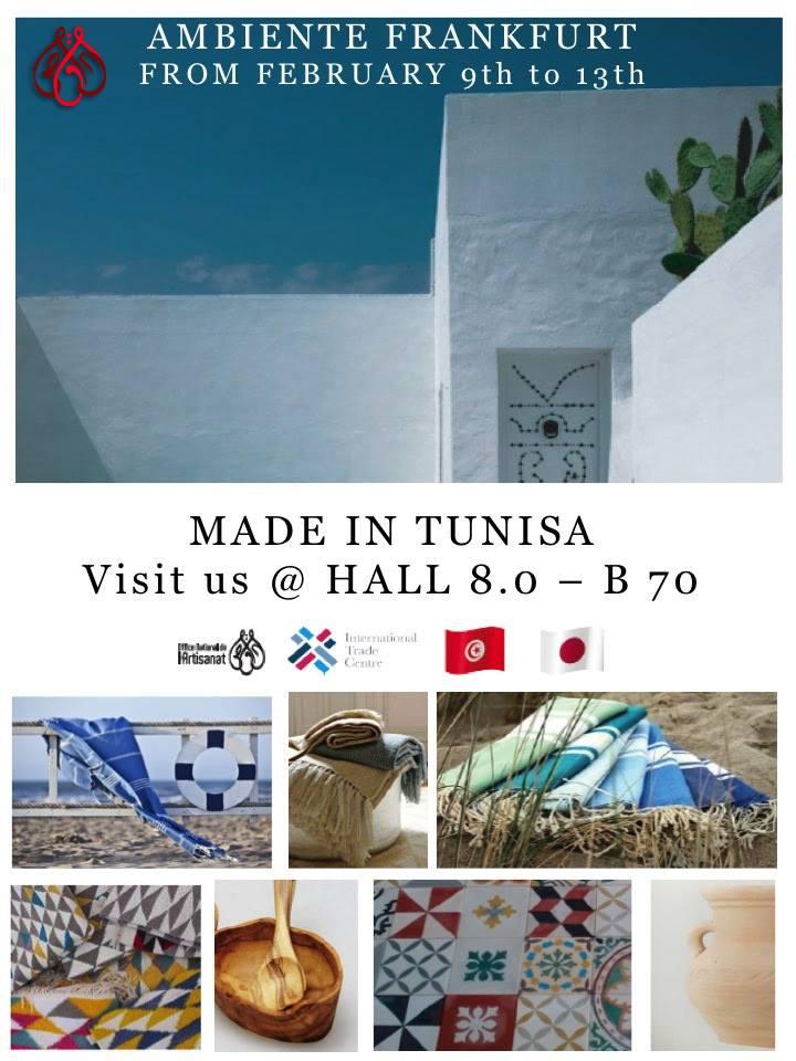 salon ambiente francfort artisanat tunisie