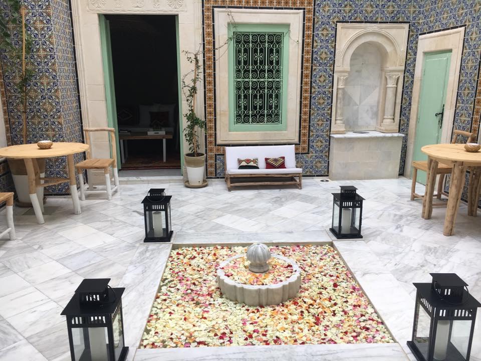 dar antonia maison d'hôte tunisie designer Philippe xerri