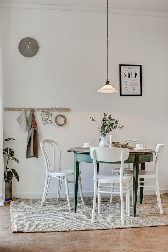 meuble salle a manger deco vintage