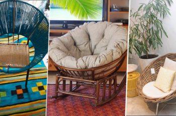 fauteuil rotin artisans tunisiens