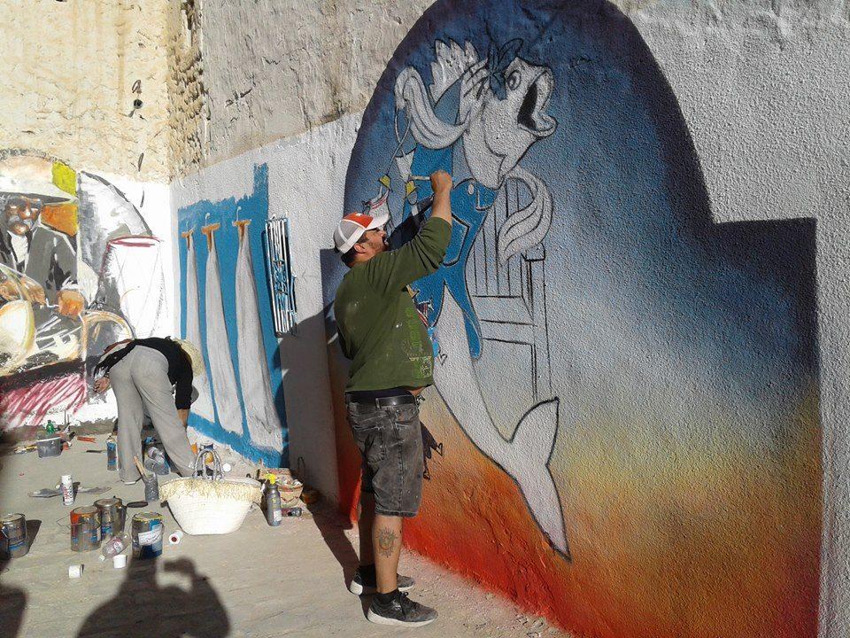 djerba painting street art
