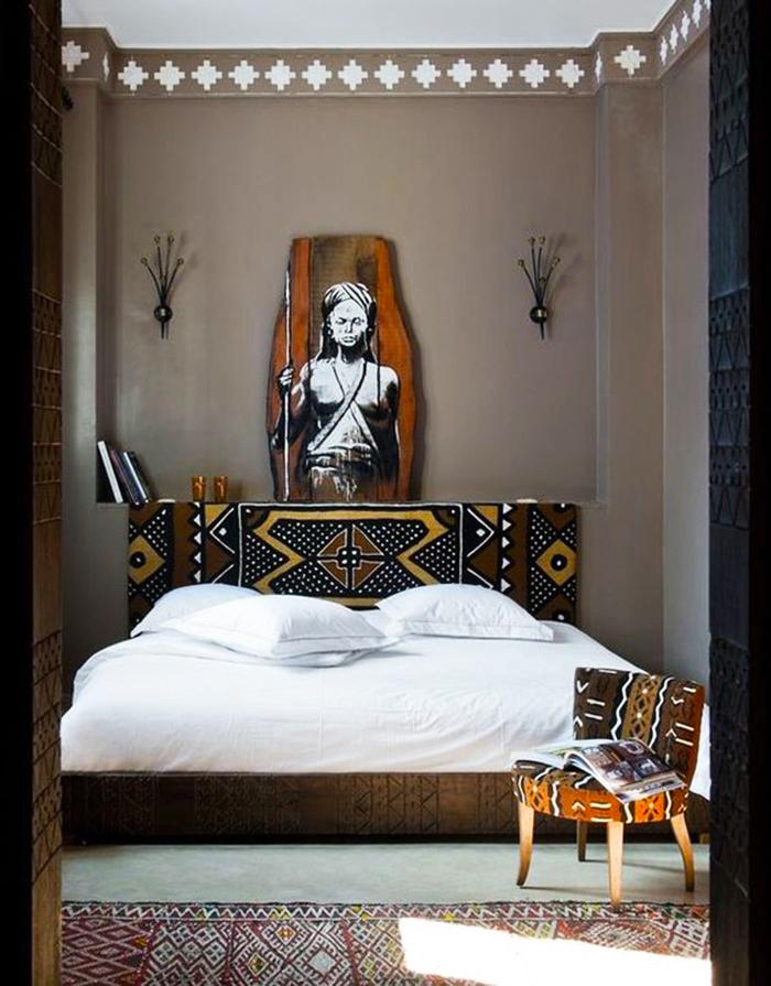 Deco africaine pour chambres à coucher