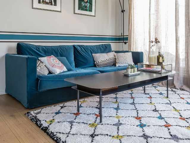 tapis berbere pour salon