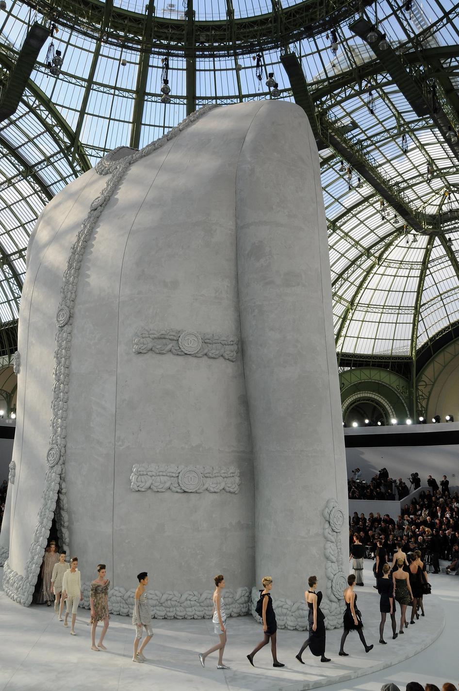 les-decors-defile-chanel-par karl-Lagerfeld