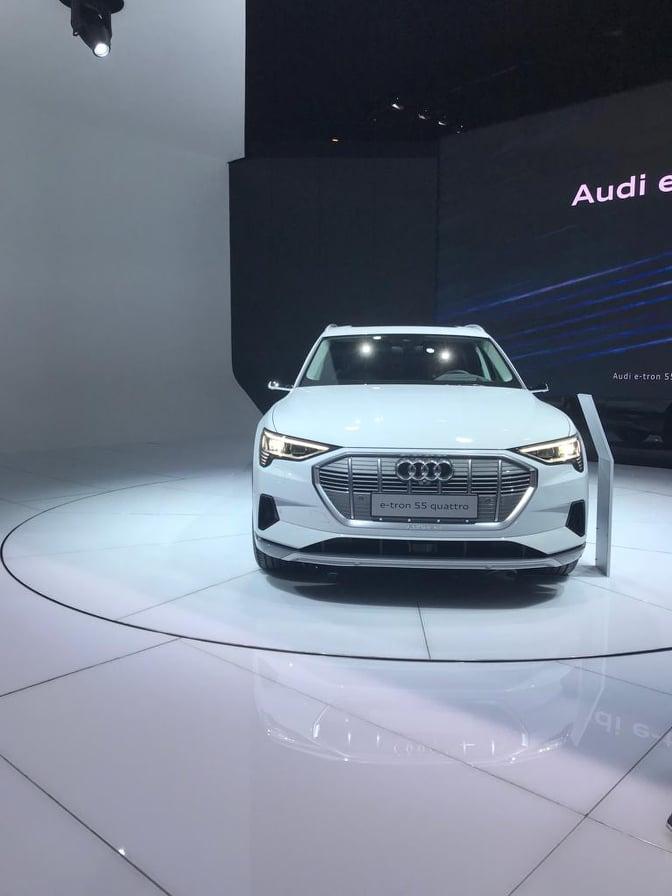 AudiQ4e-tronau Salon de l'auto de Genève 2019