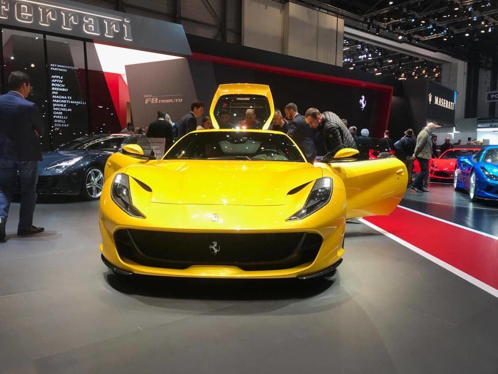 Ferrari au Geneva International Motor Show
