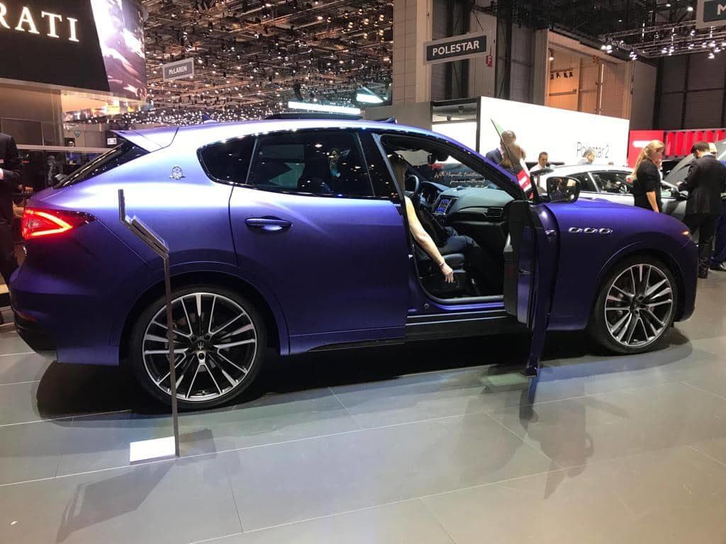 Maserati Levante Trofeo ausalon International de l'Automobile de Genève