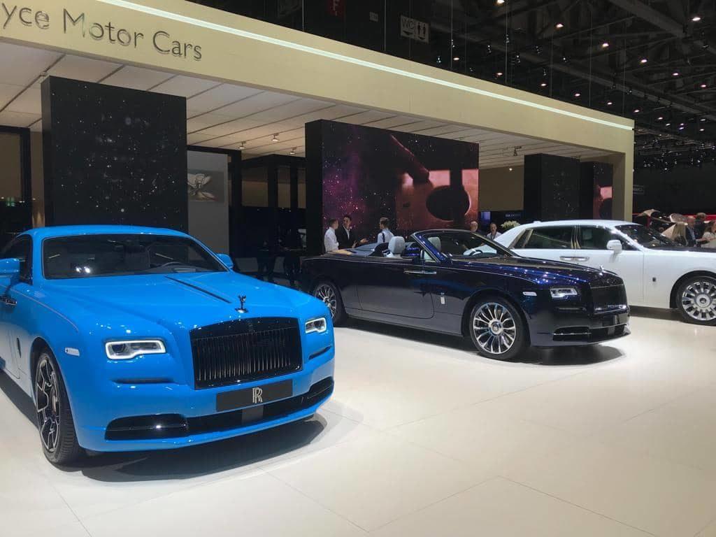 Rolls Roycesalon International Automobile Genève