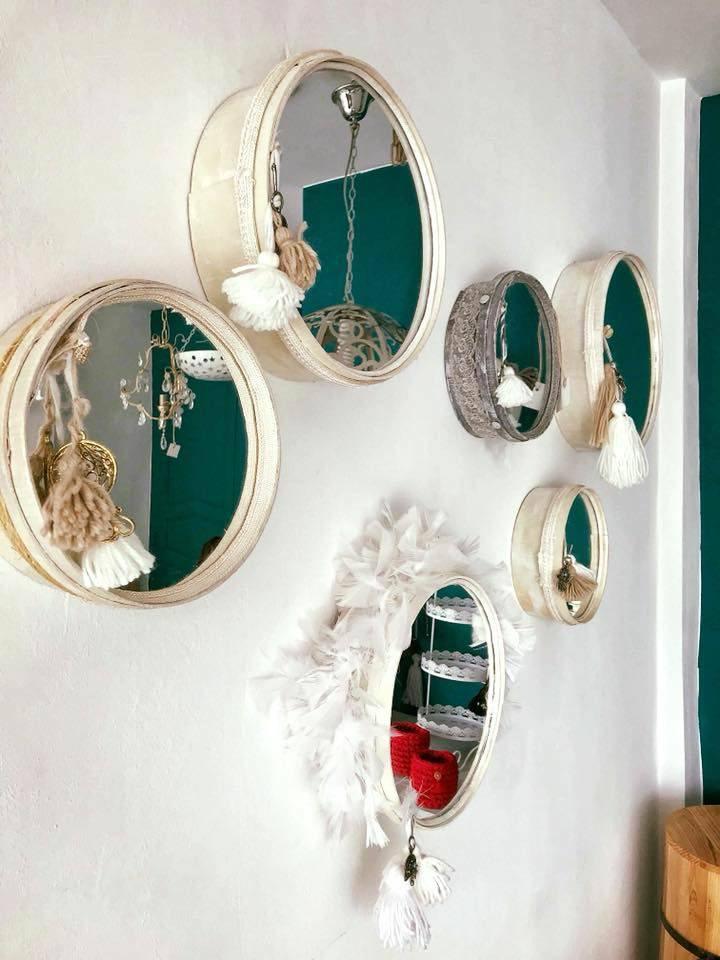 miroir design houchna