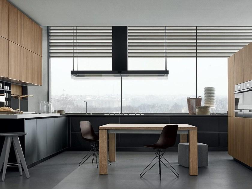 cuisine moderne de la marque poliform au salon de meuble milan