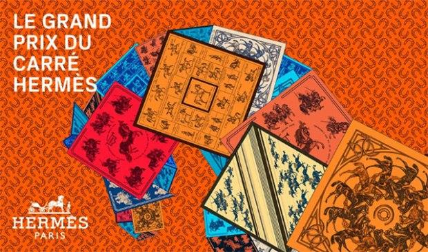 concours hermes de creation de foulard