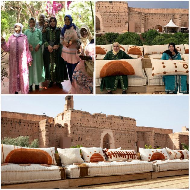 defile dior marrekech met en valeur l'artisanat marocain