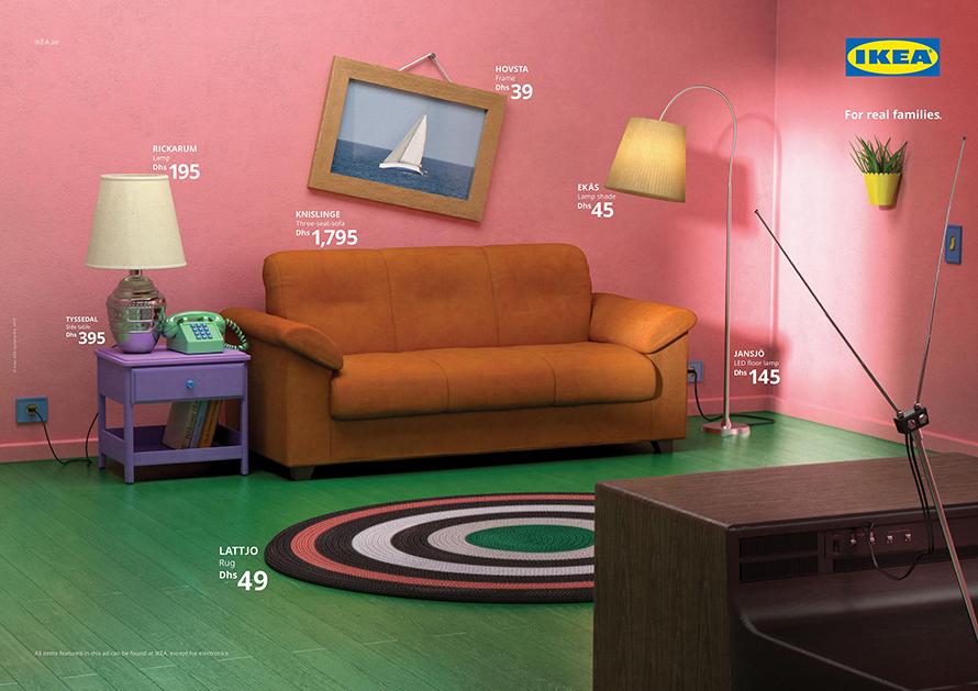 ikea reproduit les decors de series tv