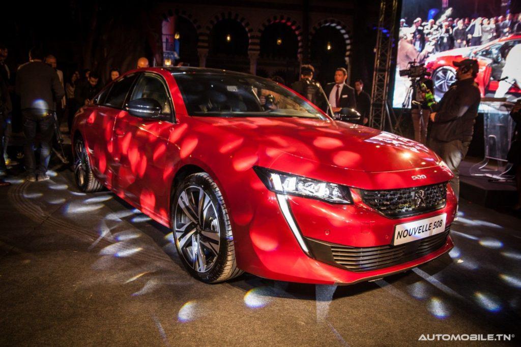 automobile tunisie le nouveau peugeot 508