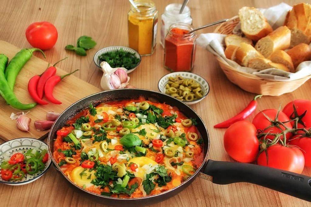 instagram food et art culinaire d'influenceuse tunisienne Rym Bourguiba
