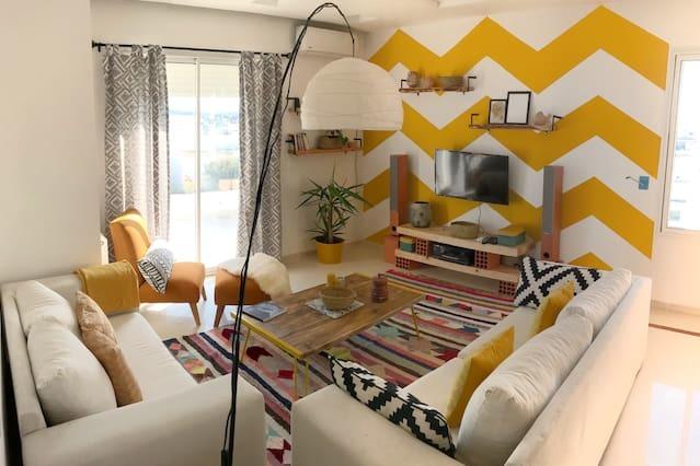 chambre-apaprtement-airbnb-lamarsa-tunisie