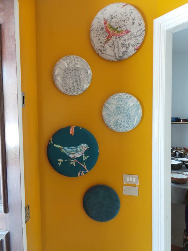 decoration en tissu karin's creation