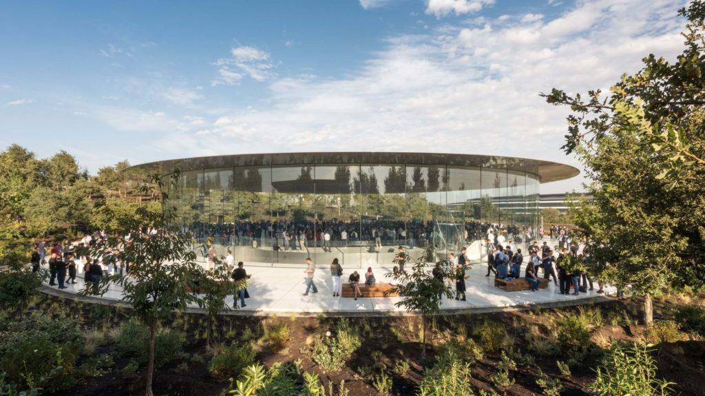 amphitheatre steve jobs silicon valley