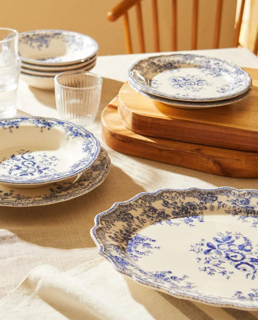 assiette art de la table zara home