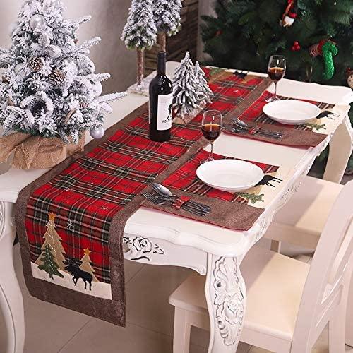 nappe en jute et chemin de table de table